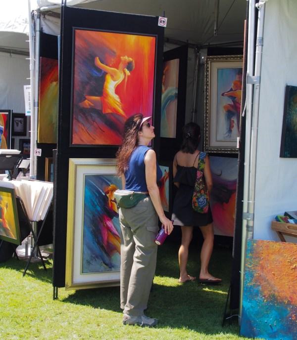 """San Diego """"art Walk Bay"""" 20120923"""