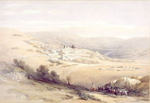 David Roberts, Nazareth the Holy Land 1842