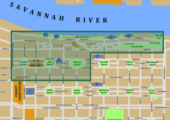 SavannahStPaddysFestivalArea