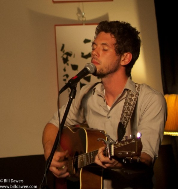 Daniel Brewer of Besides Daniel at The Sentient Bean in 2012