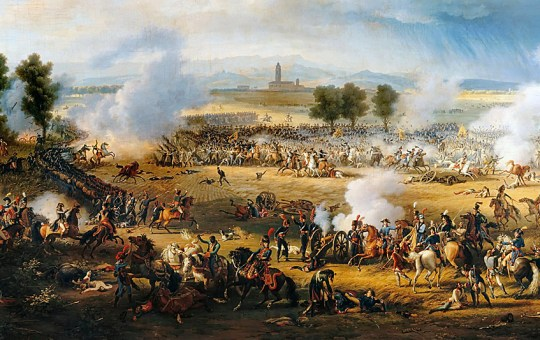 La bataille de Marengo par Louis-François Lejeune.