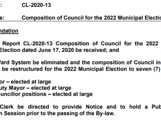 Council Size Reduction Report