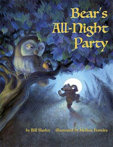 Bear's All-Nigh Party Book Cover