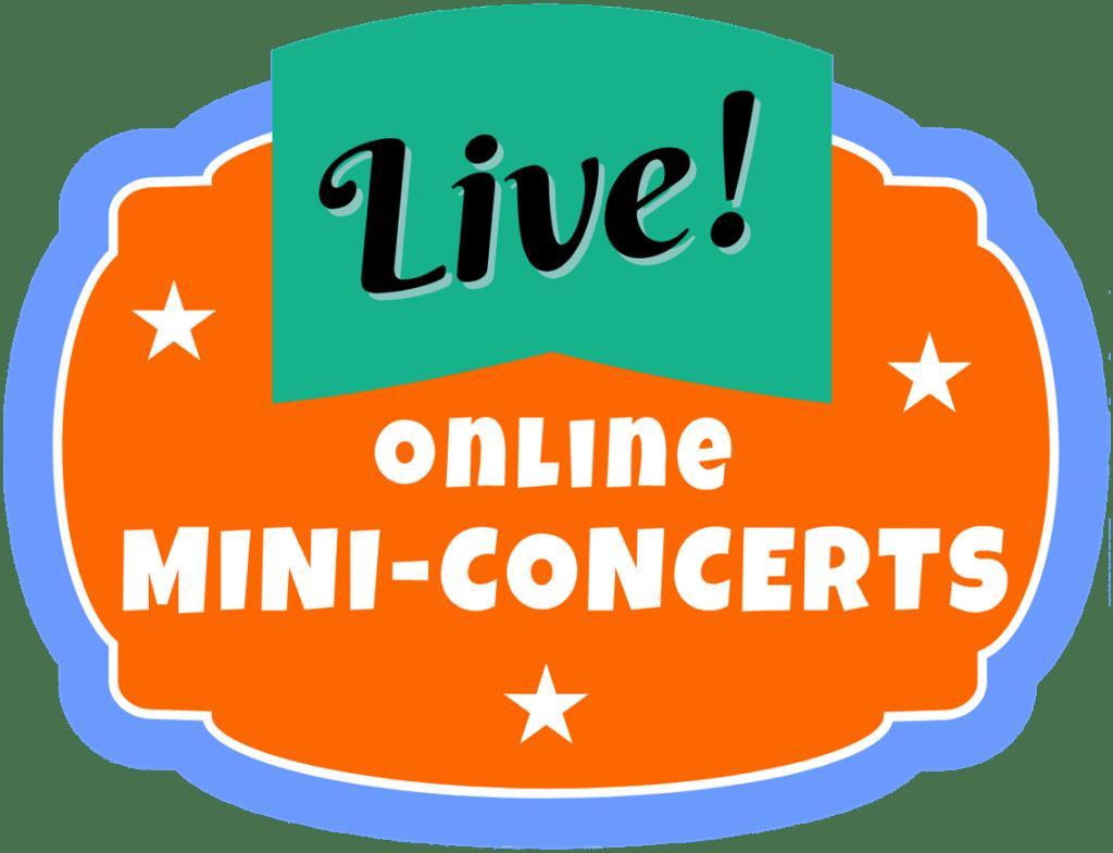 Live Online Mini-Concerts