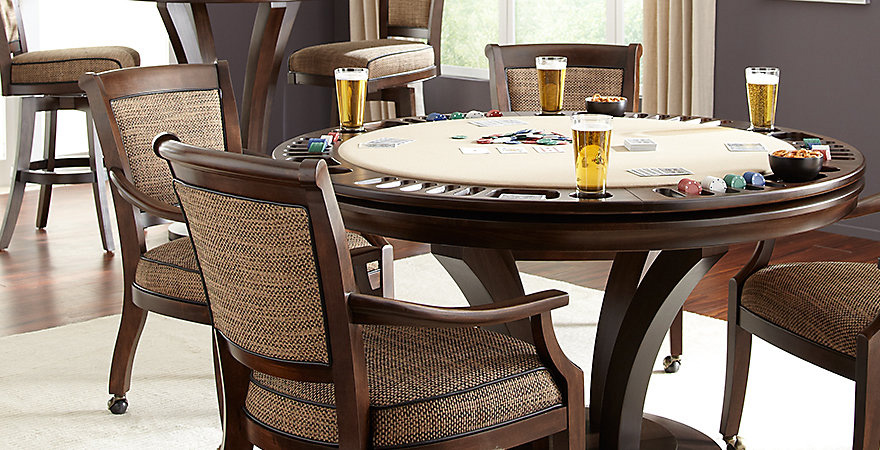tables and chairs chair slip covers for dining poker sale game billiards factory
