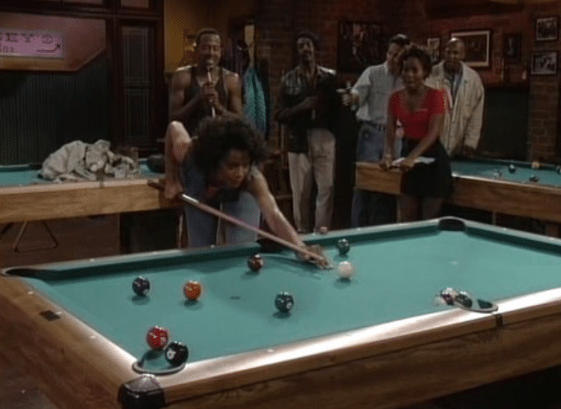Amber evans hustler pool room