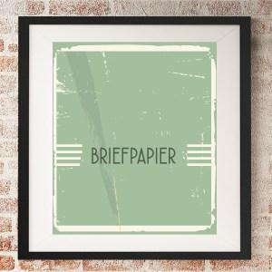 briefpapier laten ontwerpen