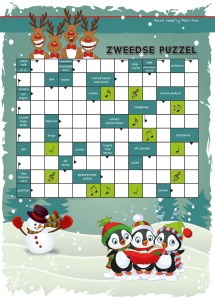 Puzzel Kinder Puzzel Boek winter 2017