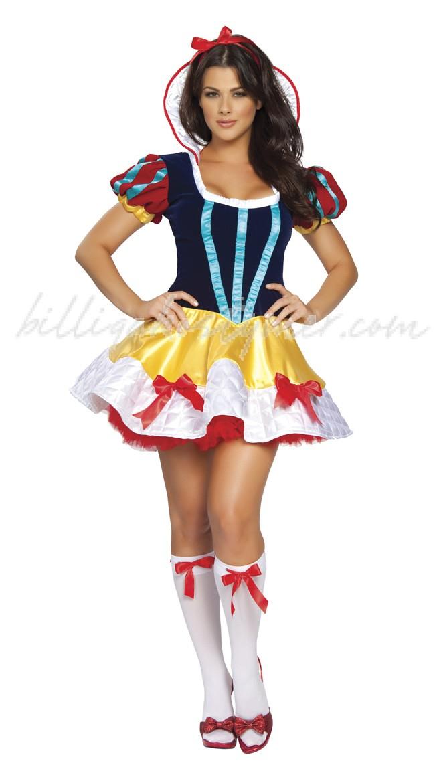 Disney Kostym Fantasy Snvit Kostym