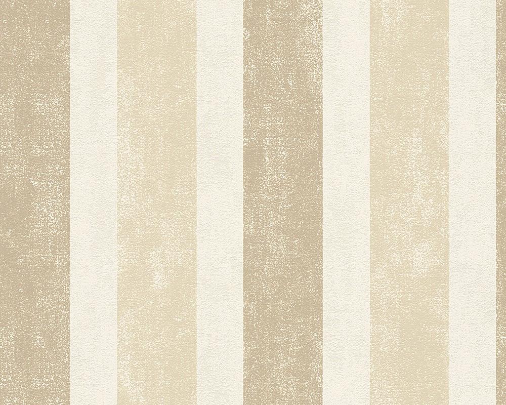 Tapete Schner Wohnen beige braun Streifen 958672