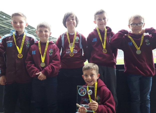 U9s Athletic sporting award winners