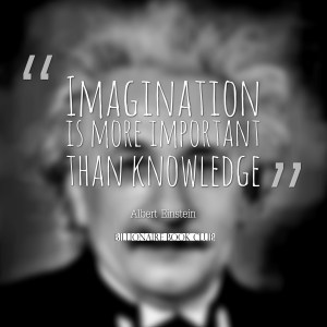 Einstein -Imagination is more important than knowledge