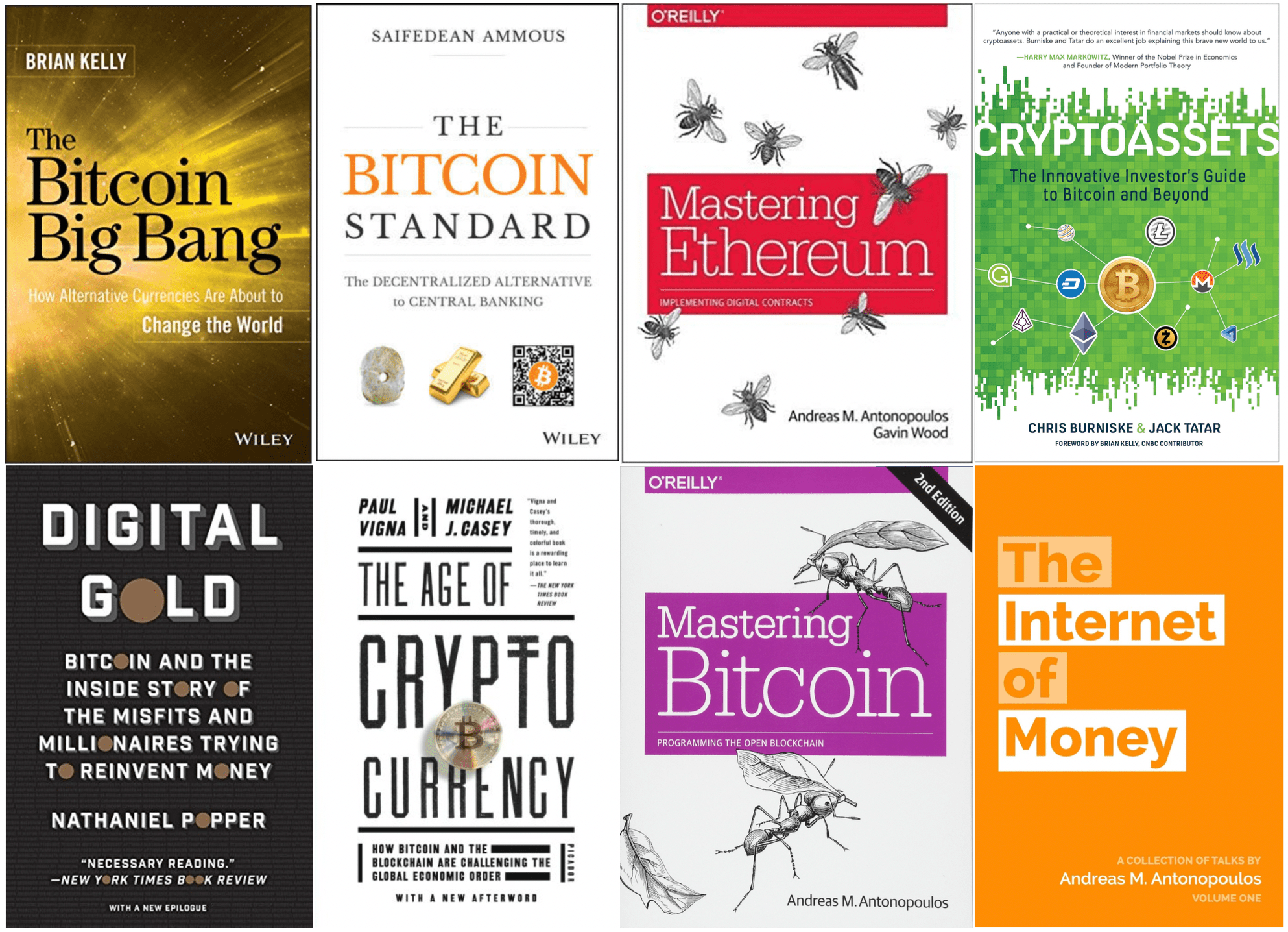 best books to learn about cryptocurrency