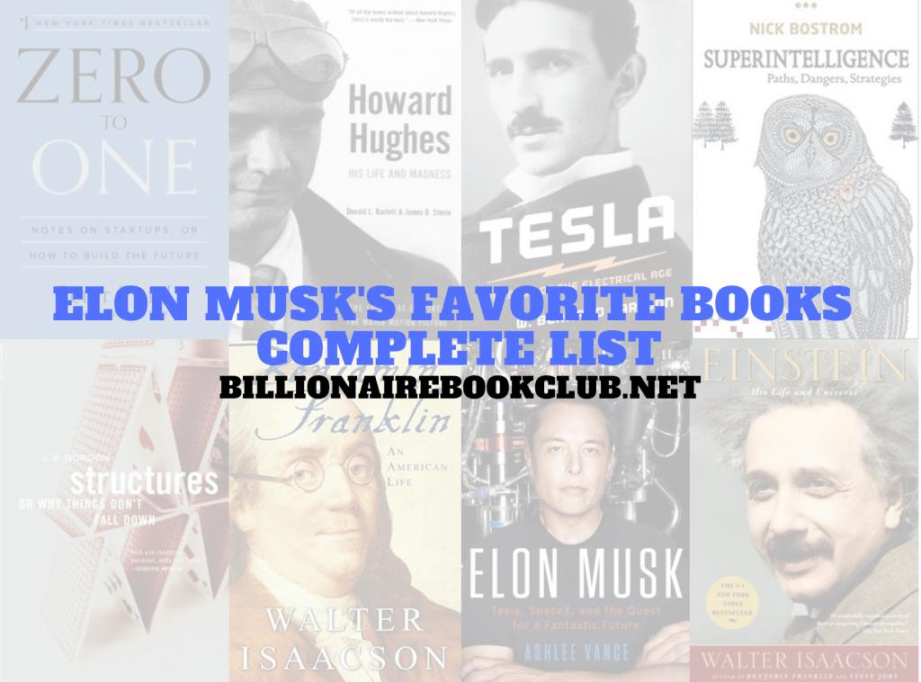 Elon Musk Favorite Books Complete book list