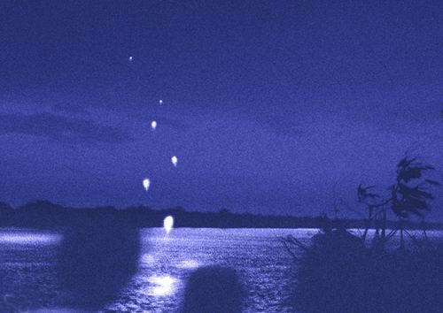 Hasil gambar untuk bola api naga sungai mekong