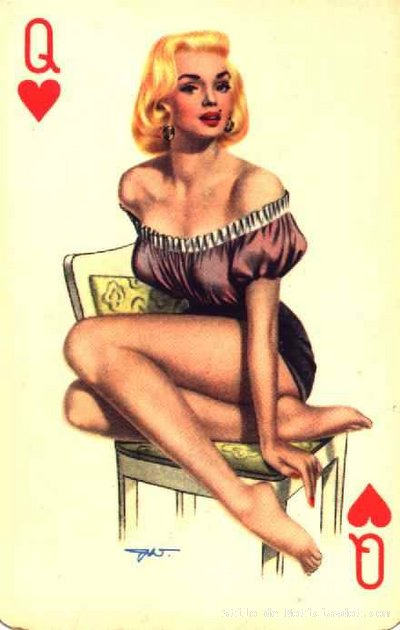 Pin Up Girl Wallpaper Poker Pinups Bill Rini S Blog