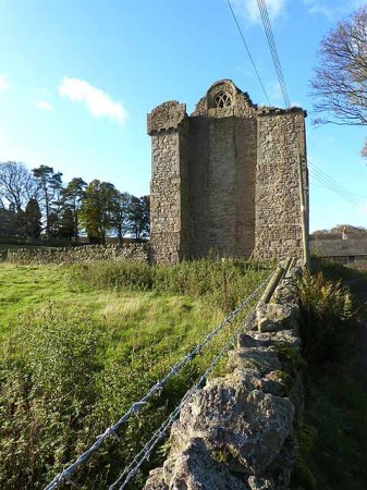 Muggleswick Grange - monastic remains