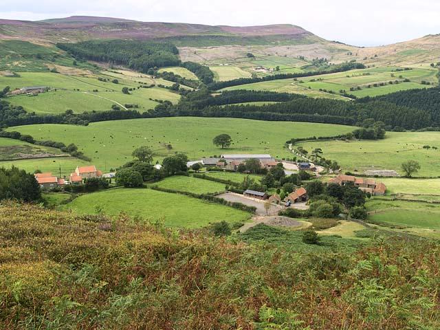 Urra viewed from Urra Moor
