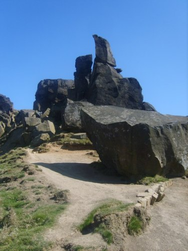 The Wainstones on Cold Moor
