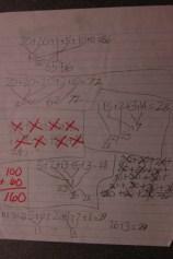 Math Work from Helena