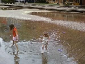 Flooded Plaza