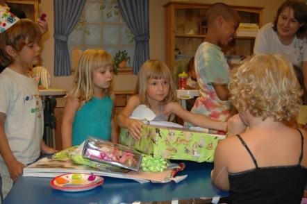 Opening Presents at Grandma's House