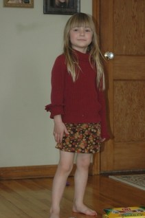 Modeling on Easter