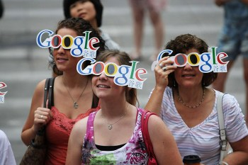 Google goggles in China!