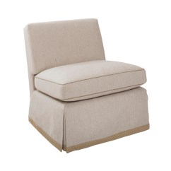 Brown Slipper Chair Armed Dining Chairs Large Billy Baldwin Studio