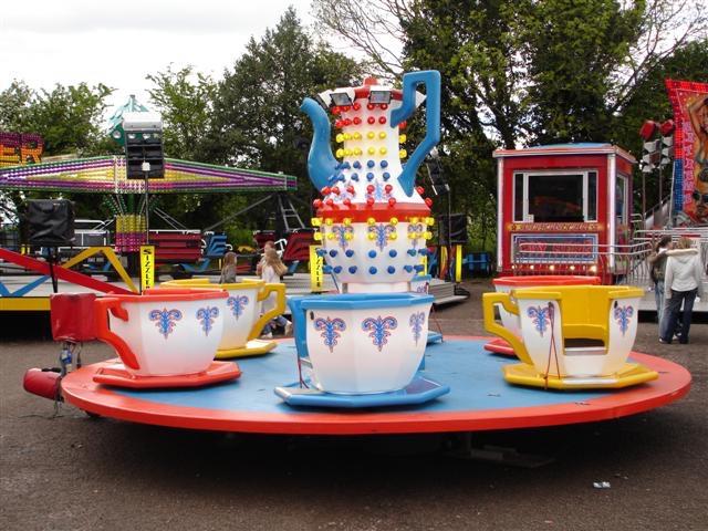 Fun Fair Funfair Cup & Saucer ride party hire