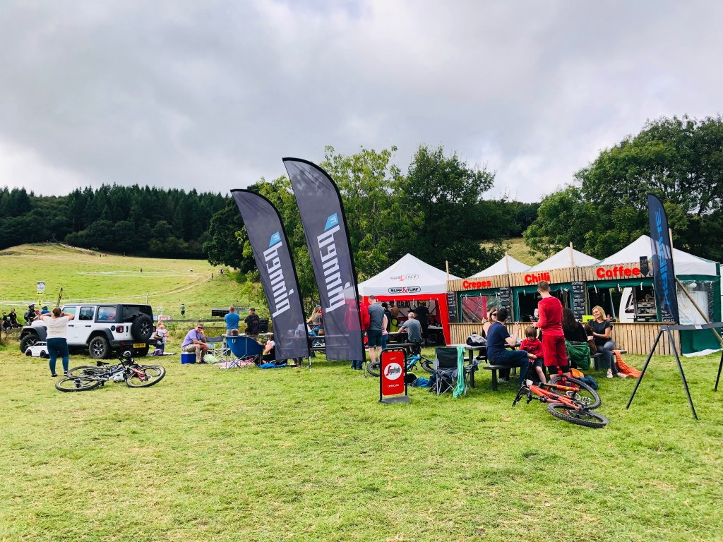 StrEATery.co Street Food catering at the Welsh gravity enduro races