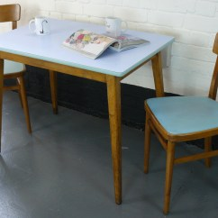 Kitchen Table And 6 Chairs Uk Bubble Chair Stand 1960s Vintage Two Sold