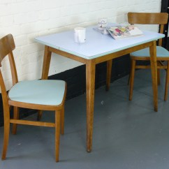 Kitchen Table And 6 Chairs Uk Swing Chair Canada 1960s Vintage Two Sold
