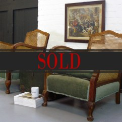 1930 Cane Back Sofa Redwood City An Attractive Pair Of 1930s Bergere Armchairs