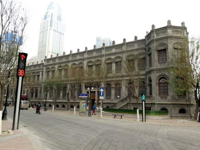 "Tianjin Custom Letter House, 1878. It later became the Tianjin Branch of Post Office of the Qing Dynasty. China's first national stamps, the ""Dragon Stamps"" were issued here. Tianjin, China, Asia."