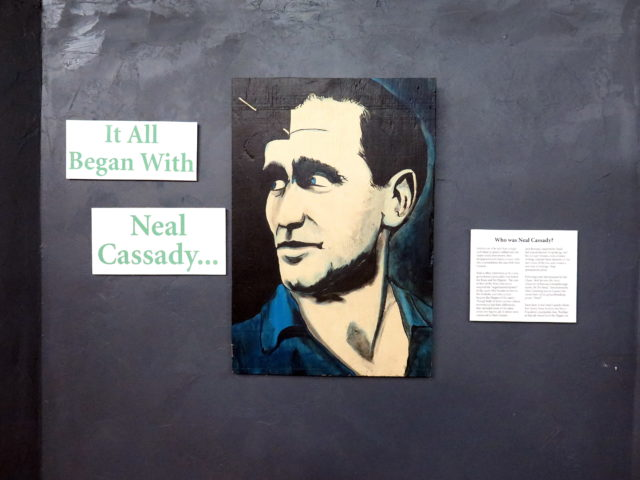 "That seems like quite a statement, that ""it all began with Neal Cassady..."" San Francisco, United States, North America."
