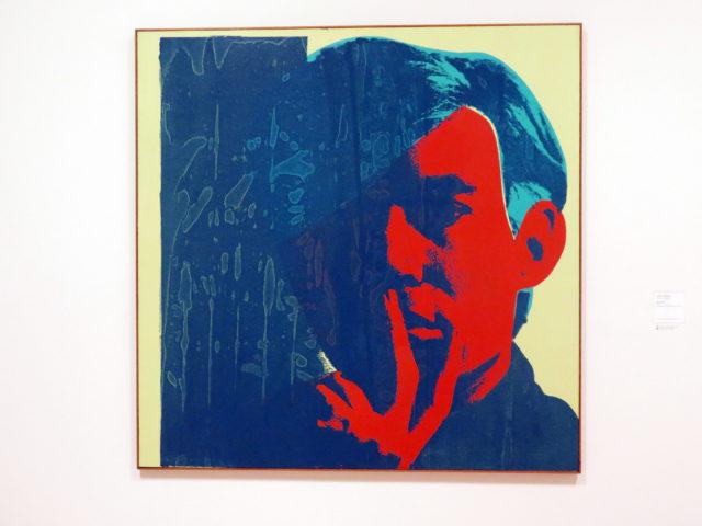 "Heeeeeres Andy! ""Self-Portrait"" by Andy Warhol, 1967. SFMOMA, San Francisco, United States, North America."