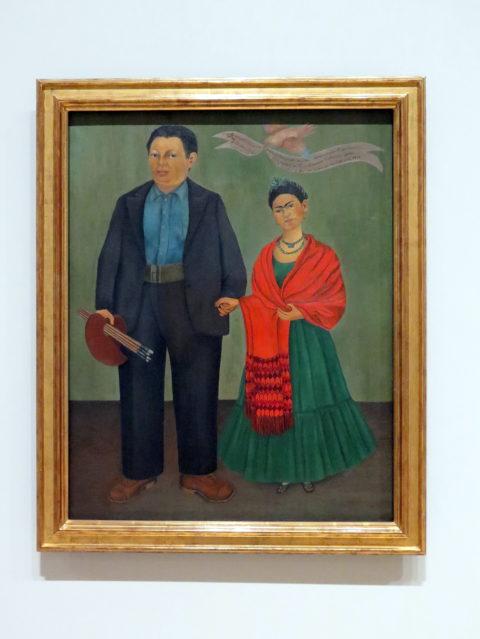 """Frieda and Diego Rivera"" by Frida Kahlo, 1931. 20th-century art's power couple. SFMOMA, San Francisco, United States, North America."