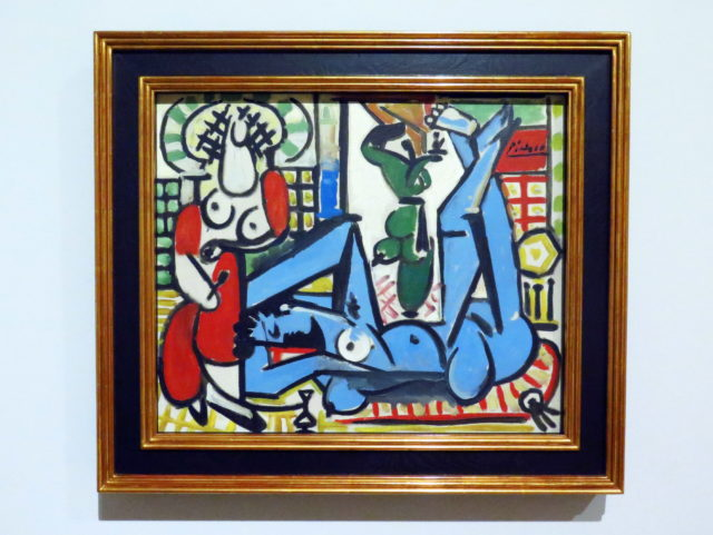 """Pablo! """"Les femmes d'Alger"""" (""""Women of Algiers"""") by Pablo Picasso , 1955. SFMOMA, San Francisco, United States, North America."""