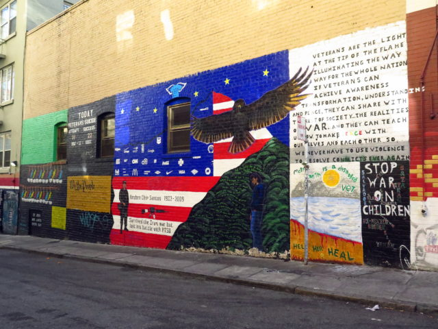 Veterans Alley. (Day 3) San Francisco, United States, North America.
