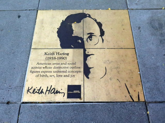 New York '80s pop art icon Keith Haring succumbed to AIDS at 31. San Francisco, United States, North America.