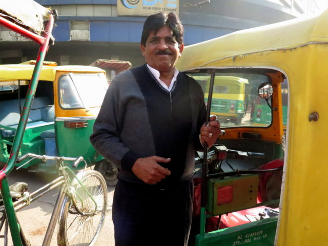 "I got a very cheap rate from this driver, mostly because a friendly local who chatted me up in the street told the driver and me how much I should be charged. In addition to charging me the ""local"" rate, he was super friendly. Delhi, India, Asia."