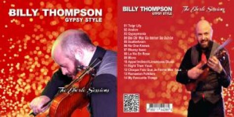 Billy Thompson Gypsy Style - The Eberle Sessions Audio CD
