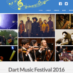 Dart Music Festival 2016 Front Page