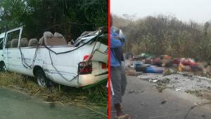 Afrika ülkesi Kamerun'da katliam üzere kaza!