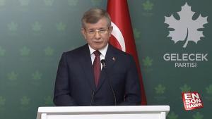 Ahmet Davutoğlu'na HDP'nin kapatılması soruldu