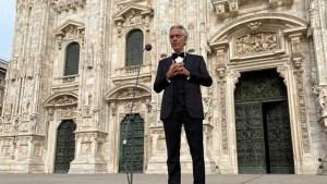 Andrea Bocelli'nin online konserini 2.6 milyon kişi izledi
