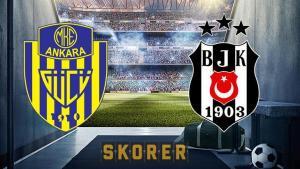 Ankaragücü – Beşiktaş maçı ne zaman, hangi kanalda? Ankaragücü – Beşiktaş maçı hakemi, muhtemel 11'i