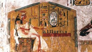 Antik Mısır'dan kalma 3 bin 500 yıllık tahta oyunu