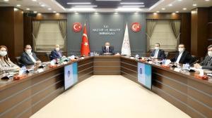 Bakan Elvan, Hak-İş Genel Başkanı Arslan'ı kabul etti